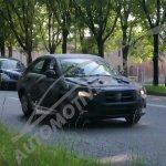 Fiat compact sedan (Linea successor) front spied in Turin