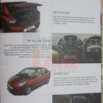 Ford Figo Aspire brochure features