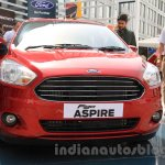Ford Figo Aspire front from unveiling