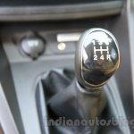 Ford Figo Aspire gear knob from unveiling