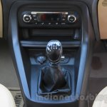 Ford Figo Aspire gear lever from unveiling