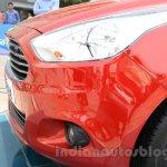 Ford Figo Aspire headlight from unveiling