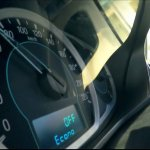Ford Figo Aspire instrument cluster
