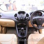 Ford Figo Aspire interior from unveiling