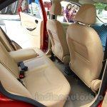 Ford Figo Aspire rear legroom from unveiling