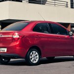 Ford Figo Aspire rear quarter press shots