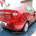 Ford Figo Aspire rear three quarter right from unveiling