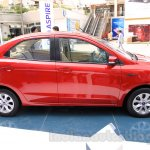 Ford Figo Aspire side from unveiling