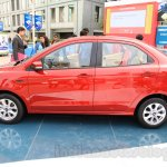 Ford Figo Aspire side view from unveiling