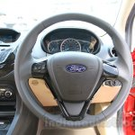 Ford Figo Aspire steering wheel from unveiling