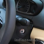 Ford Figo Aspire trip meter stalk from unveiling