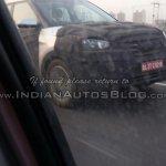 Hyundai ix25 front Greater Noida spied