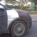 Hyundai ix25 front end Greater Noida spied