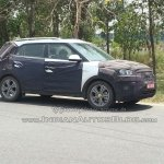 Hyundai ix25 side top-end spied