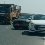 Maruti YRA spied with Hyundai Elite i20 India