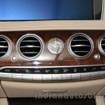Mercedes S600 Guard AC vents on the dashboard from the India launch