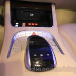Mercedes S600 Guard COMAND controller from the India launch