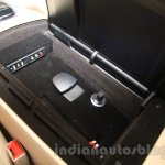 Mercedes S600 Guard USB and Aux ports from the India launch