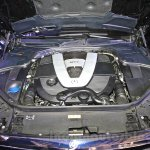Mercedes S600 Guard V12 engine from the India launch