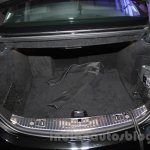 Mercedes S600 Guard boot space from the India launch