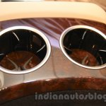 Mercedes S600 Guard cupholders from the India launch
