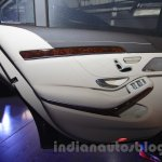 Mercedes S600 Guard door card from the India launch