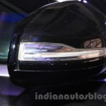 Mercedes S600 Guard external mirror from the India launch