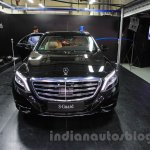 Mercedes S600 Guard front from the India launch