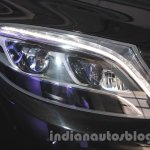 Mercedes S600 Guard headlamp from the India launch