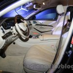 Mercedes S600 Guard interior from the India launch