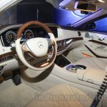 Mercedes S600 Guard interiors from the India launch