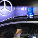 Mercedes S600 Guard rotating light from the India launch