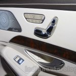 Mercedes S600 Guard seat adjustment from the India launch
