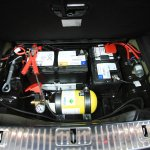 Mercedes S600 Guard spare battery from the India launch