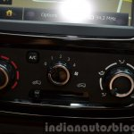 Renault Kwid AC controls India unveiling