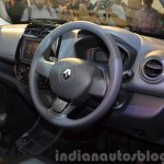 Renault Kwid dashboard India unveiling