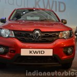 Renault Kwid front India unveiling