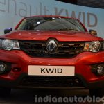 Renault Kwid front end India unveiling