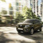 Renault Kwid front three quarter press image