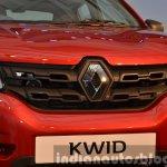 Renault Kwid grille India unveiling