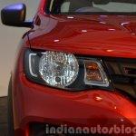 Renault Kwid headlight India unveiling