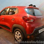 Renault Kwid rear angle India unveiling