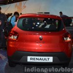 Renault Kwid rear design India unveiling