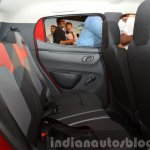 Renault Kwid rear legroom India unveiling