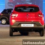 Renault Kwid rear live image