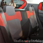 Renault Kwid rear seat India unveiling