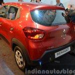 Renault Kwid rear three quarter angle India unveiling