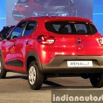 Renault Kwid rear three quarter live image