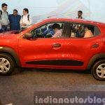 Renault Kwid side profile India unveiling