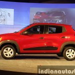 Renault Kwid side view live image